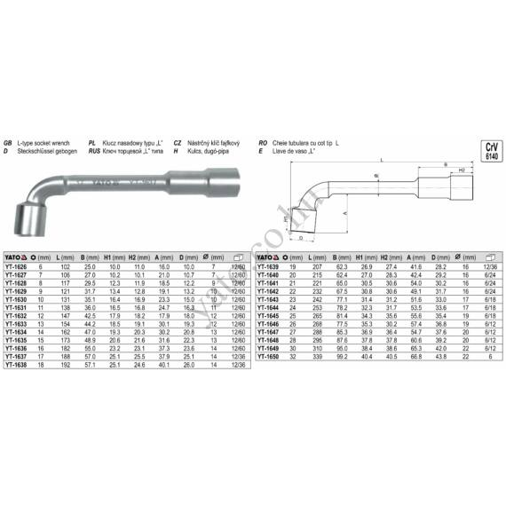 PIPAKULCS 13mm L=154mm