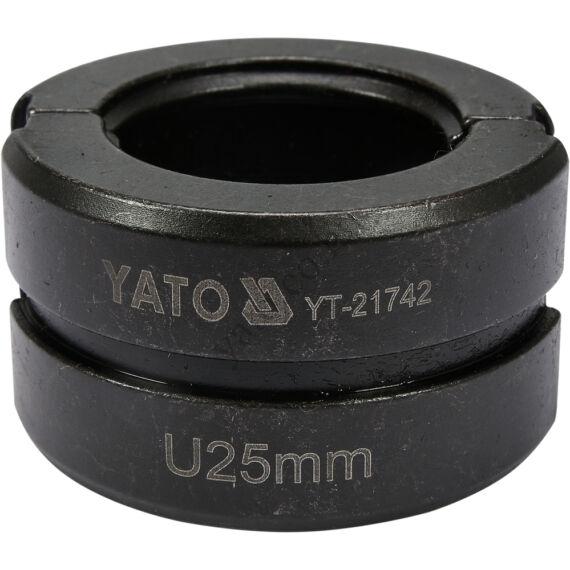 "NYOMÓFEJ YT-21735-HÖZ ""U"" 25MM"